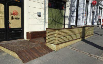 Bygg ny terrasse  på Bygdøy Allé  63 0265 Oslo